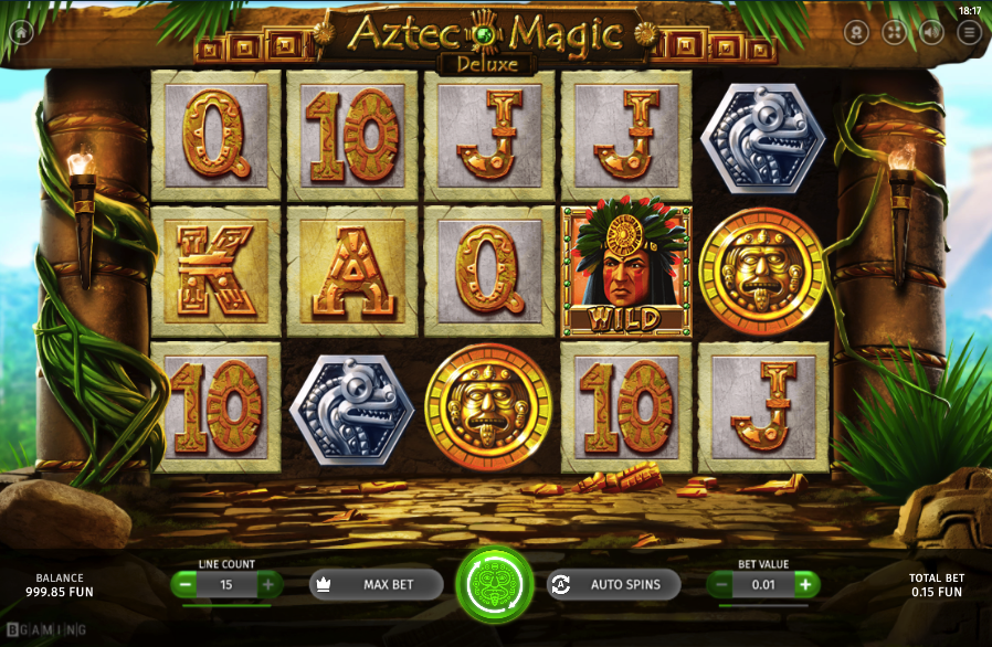 Aztec Magic Deluxe video slot from BGaming