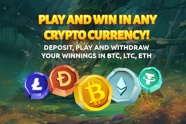 Deposit in Bitcoin at BetJungle